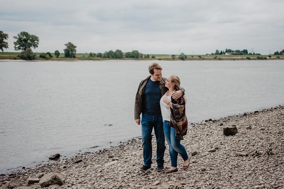 Verlobungsshooting in Krefeld