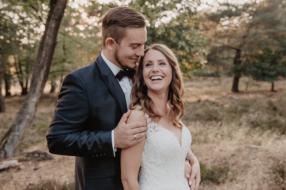 Afterwedding Shooting Lüneburger Heide