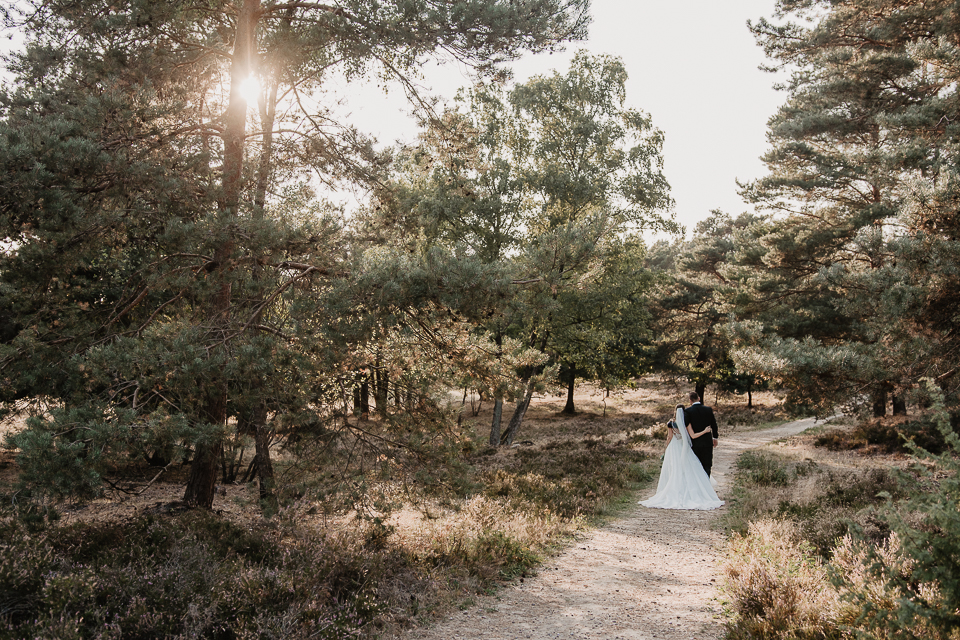 Afterwedding Shooting Lüneburger Heide
