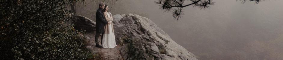 Brautpaarshooting bei Regen in Ibbenbüren